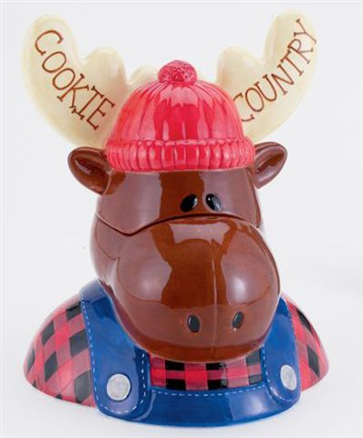Cookie Country Moose Cookie Jar