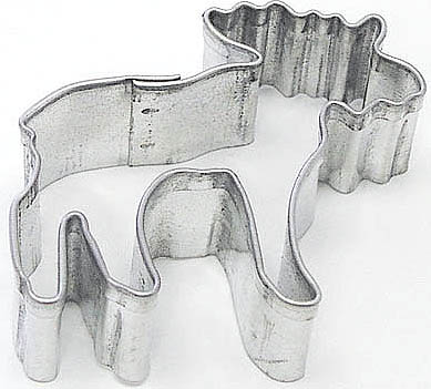 Mini Moose Cookie Cutter