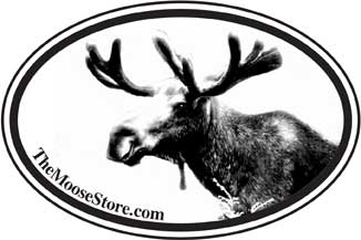 The Moose Store Euro Decal