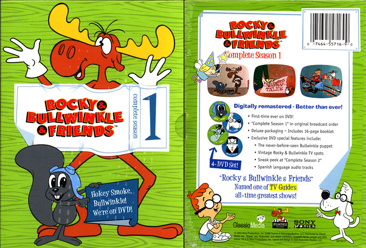 Bullwinkle & Friends Complete Season 1 DVD