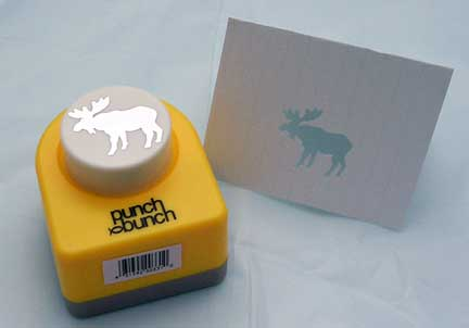 Moose Paper Punch