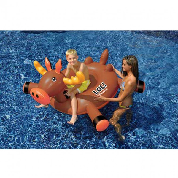 Giant Ride On Inflatable Moose Pool Toy